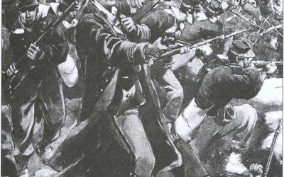 Η Αθήνα την ώρα του πολέμου (Ι.Κ. Ίνχα: Ελλάς και Έλληνες, 1897)