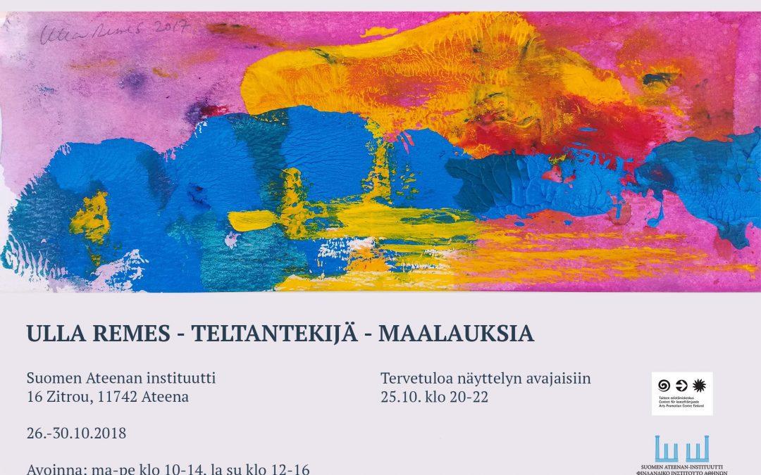 Ulla Remes – Teltantekijä – Maalauksia